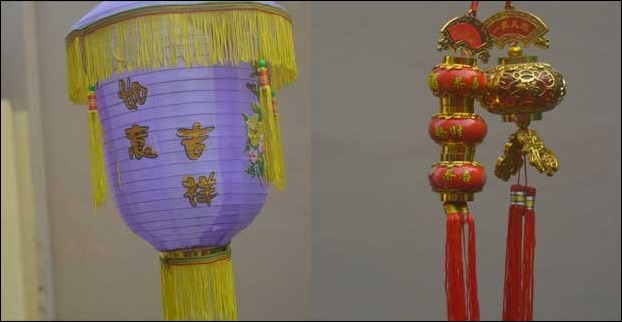 The cost of Tibetan Style Lanterns start from Rs 100