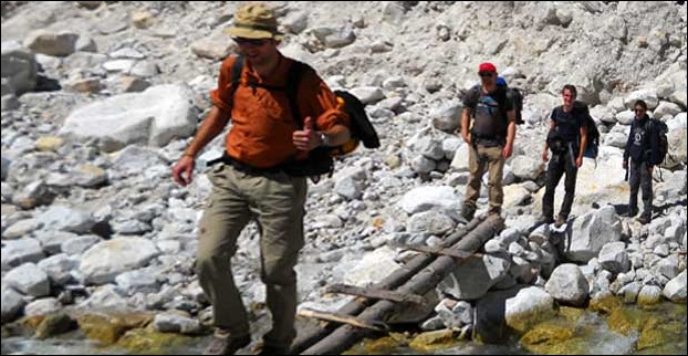 Trekking from Gangotri to Gaumukh