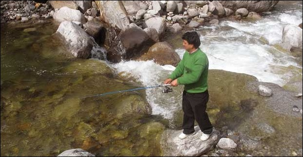 Trout Fishing in Manali