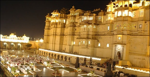 Udaipur palace continues to be an attractive center for big events