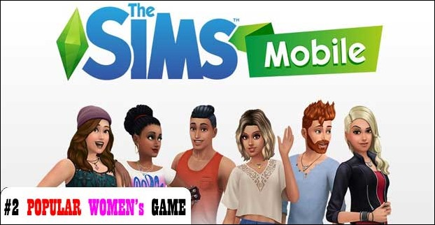 The Sims has a record success among women
