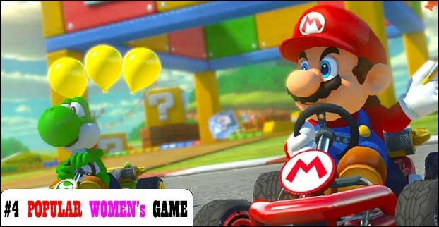 Mario has admirers among among too considering Mario Kart's popularity among women