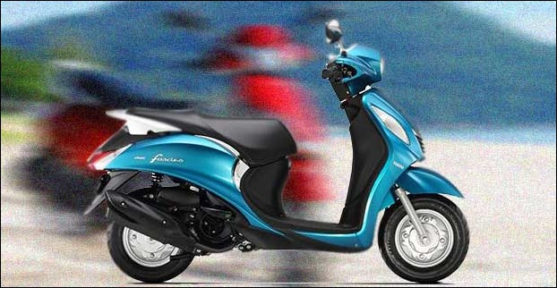 Targetting Indian youngters Yamaha Fascino launched in 2015 comes in 5 colours
