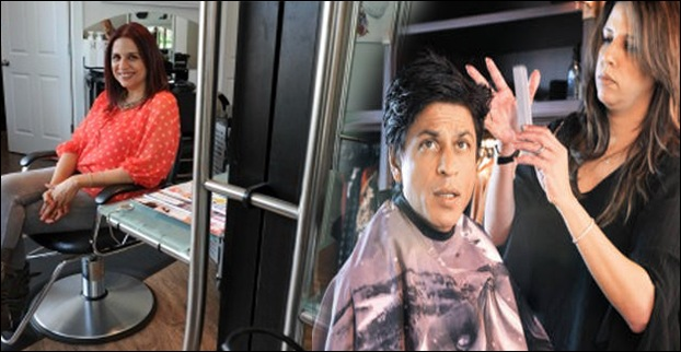 Dilshad Pastakia also happens to be the hair stylist of Shahrukh Khan.