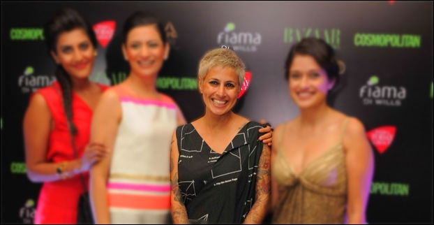 Sapna Bhavnani is also known for her tattoos apart from her profession of hair styling.